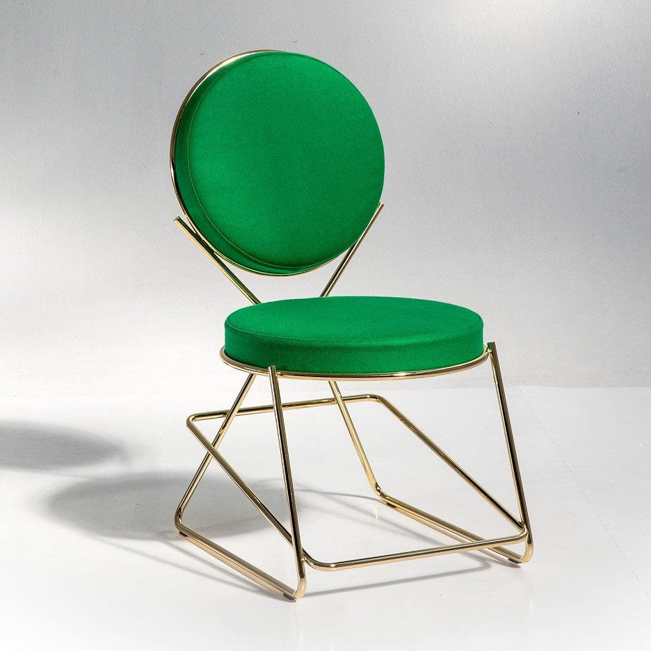 "David Adjaye's Double Zero chair for Moroso celebrates ""the power of welding"""
