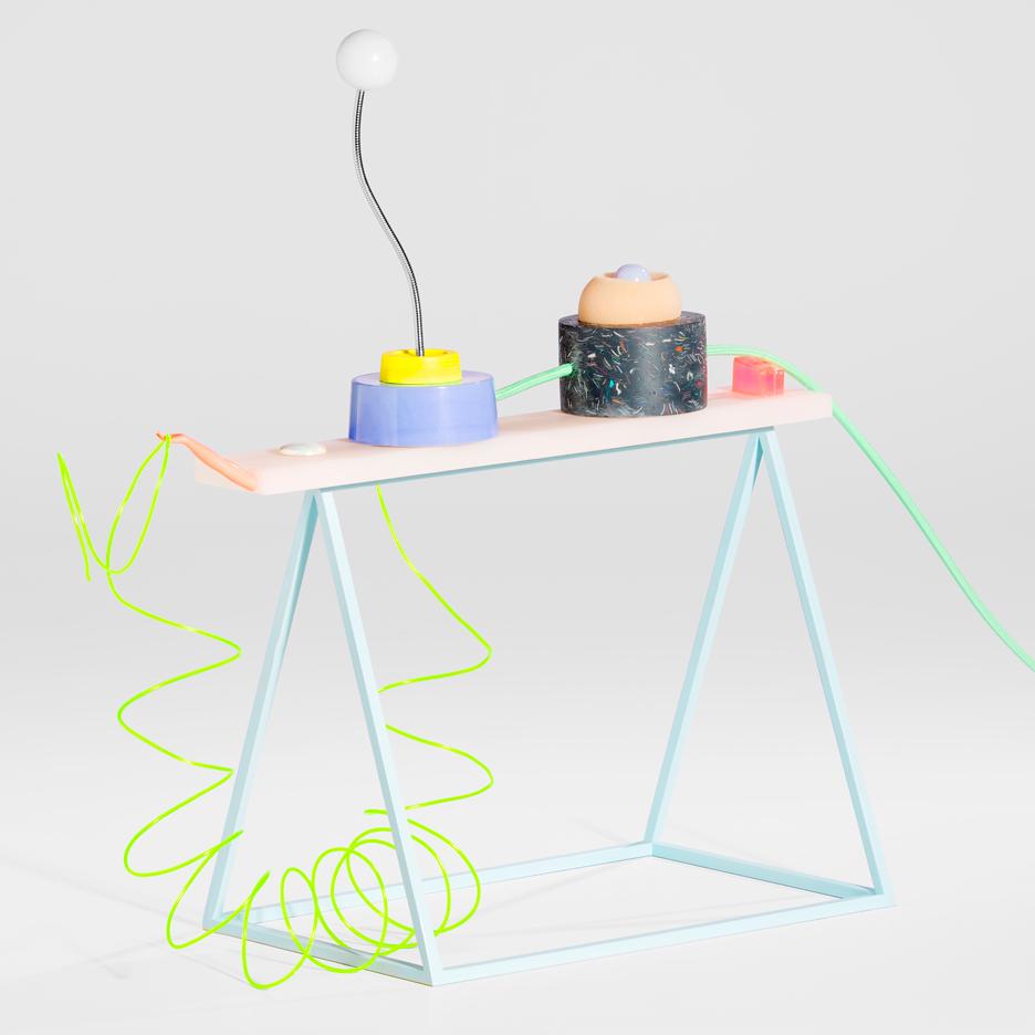 Dan Adlešič's absurd electronics respond to theatrical behaviour