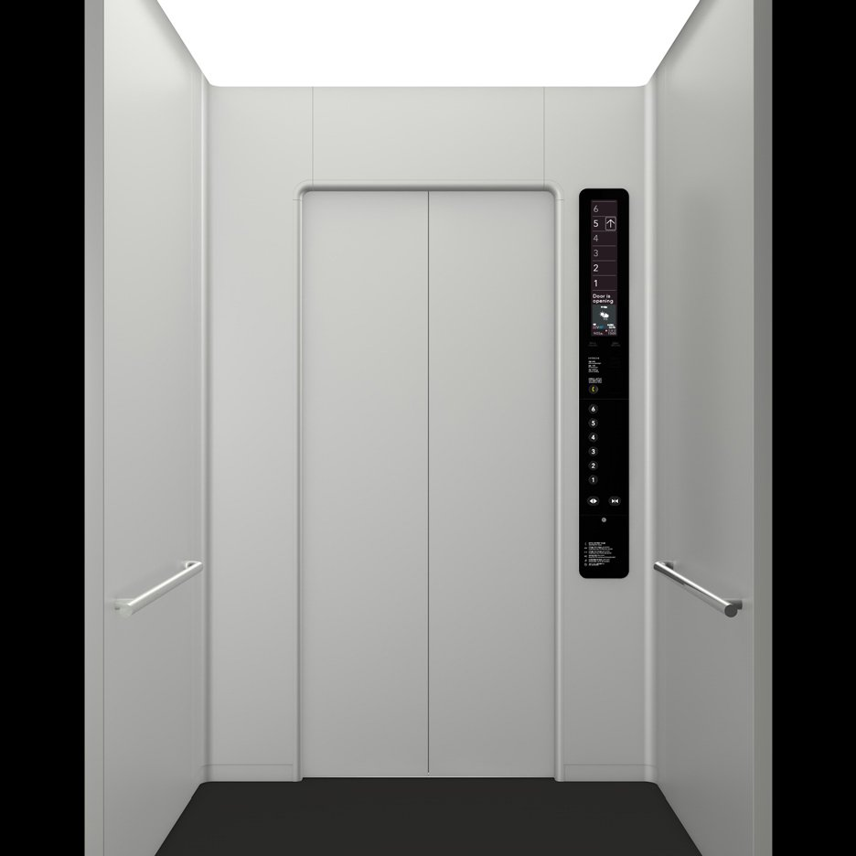 Elevator by Naoto Fukasawa with Hitachi