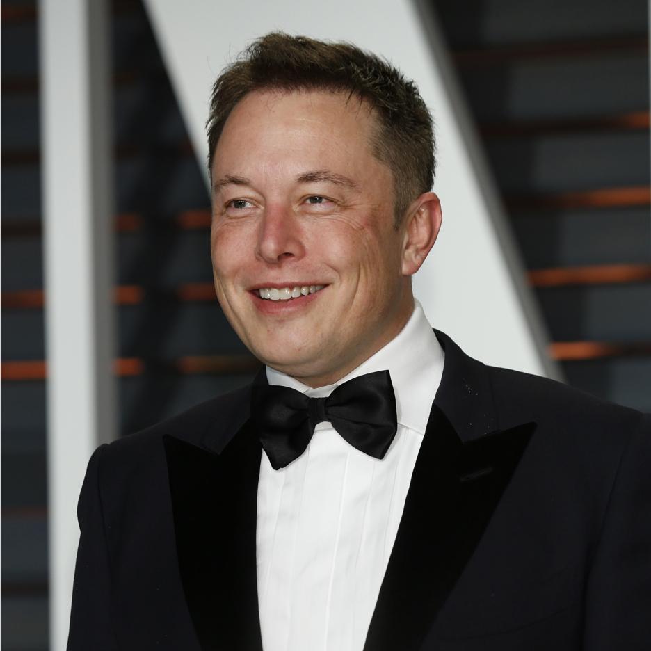 Elon Musk Tesla CEO portrait