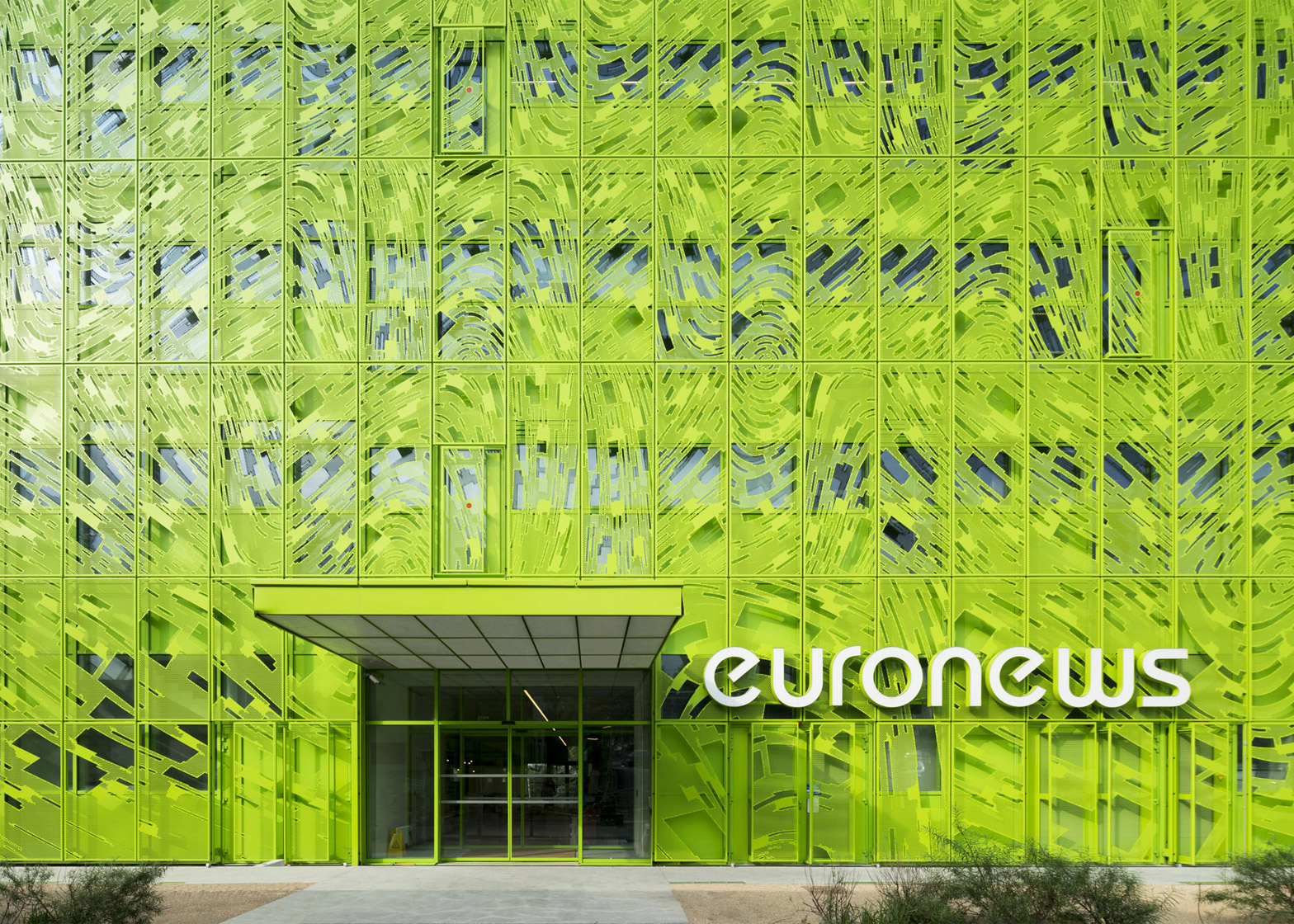 Euronews Headquarters in Lyon by Jakob + MacFarlane