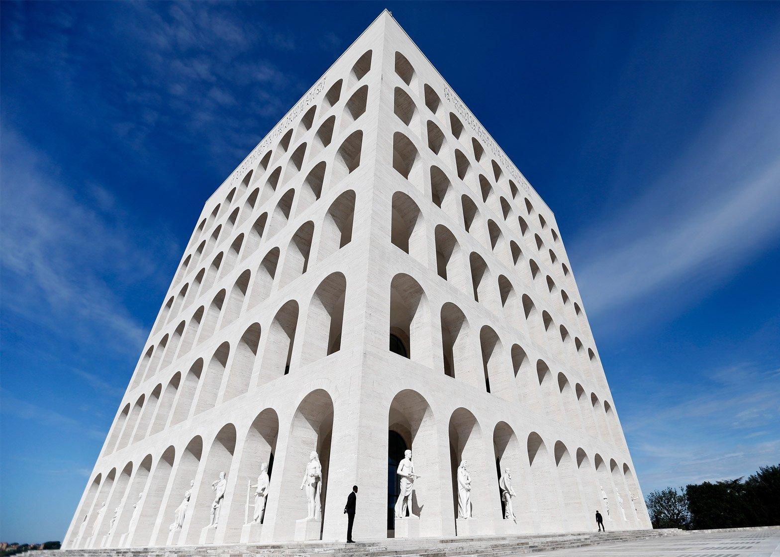 Fendi headquarters in Rome, Italy