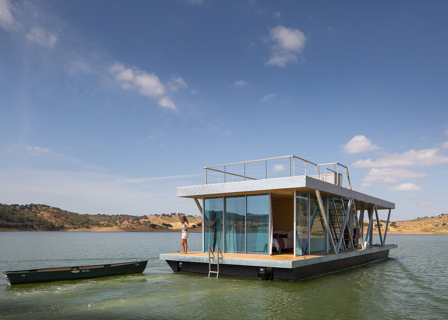 Fabulous Prefabricated Floating House Can Be Shipped Worldwide Download Free Architecture Designs Scobabritishbridgeorg