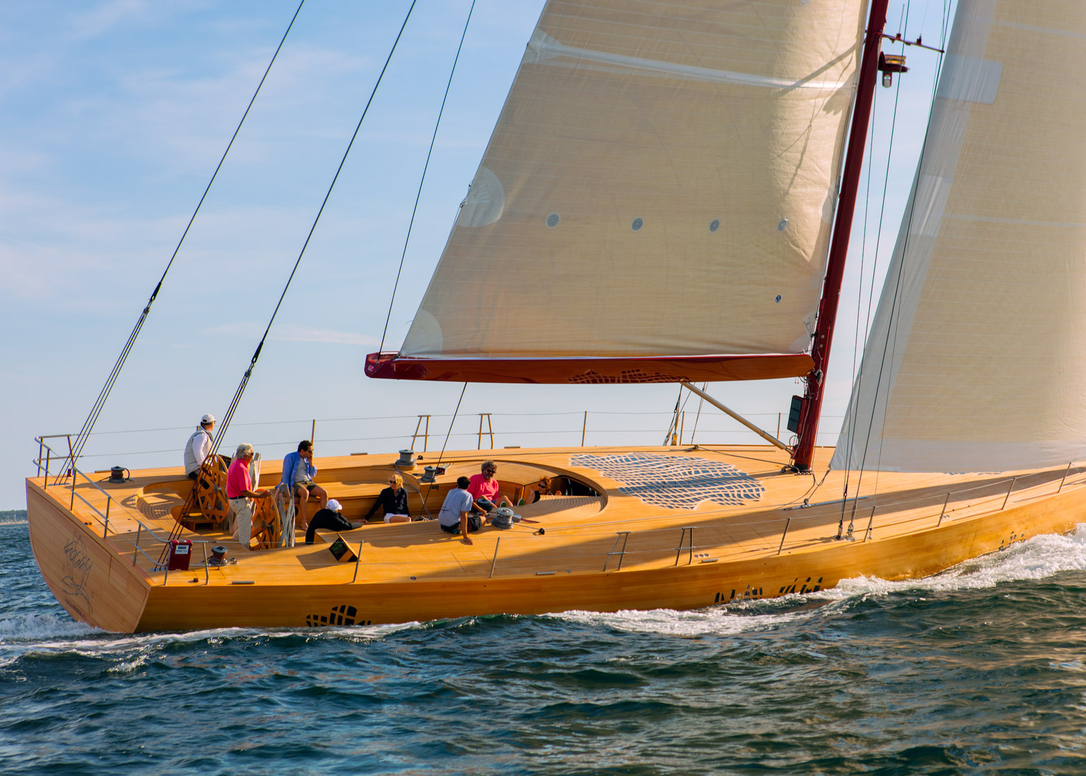 Frank Gehry's Foggy yacht