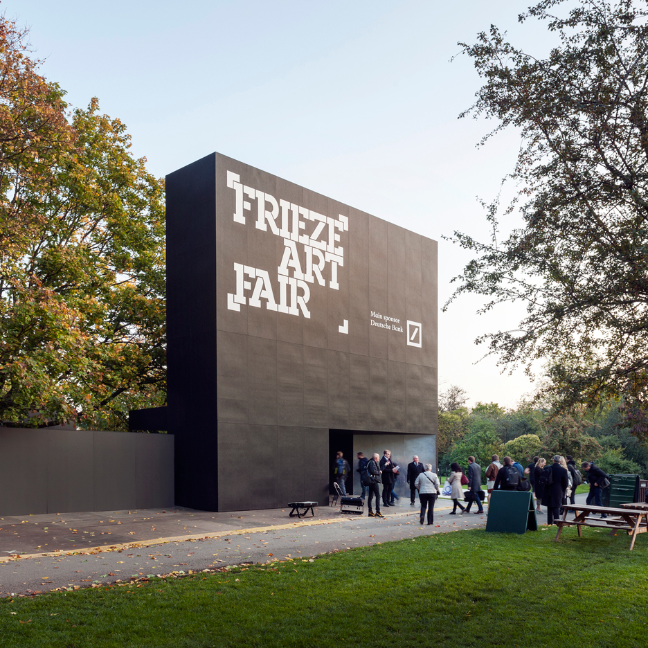 Universal Design Studio creates venue for London's Frieze Art Fair