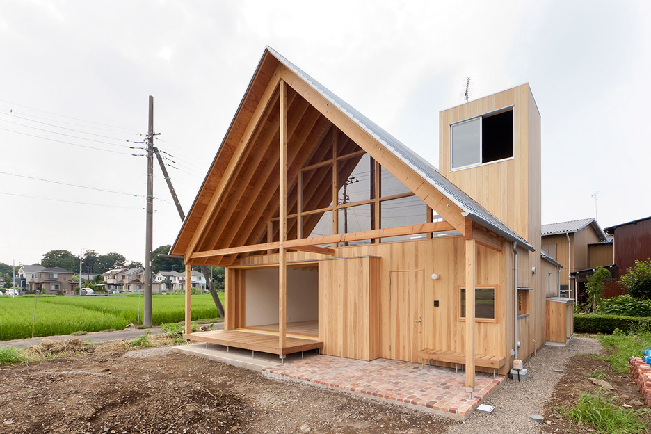 Farmland House In Japan Designed By Tailored Design Lab