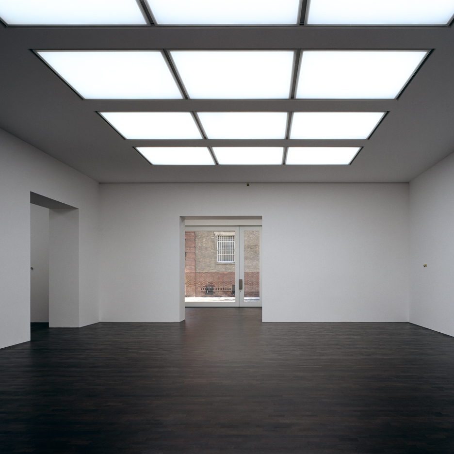 Caruso St John's Gagosian Grosvenor Hill art gallery opens in London