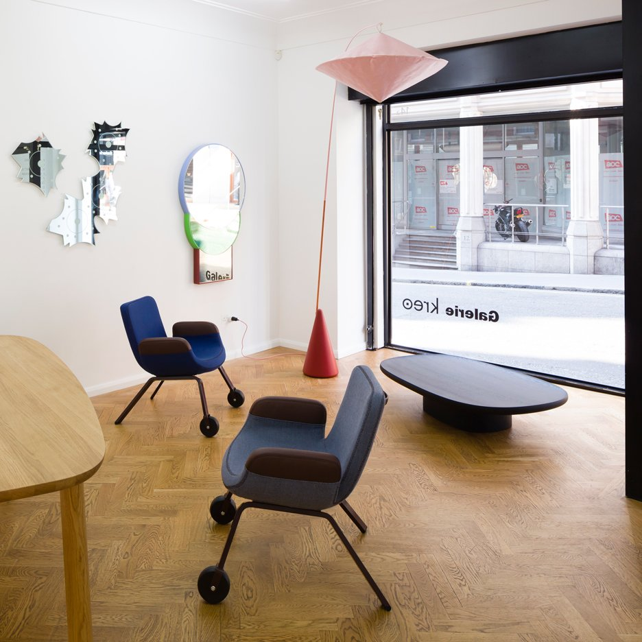 Galerie Kreo's Mayfair space opened during London Design festival 2014