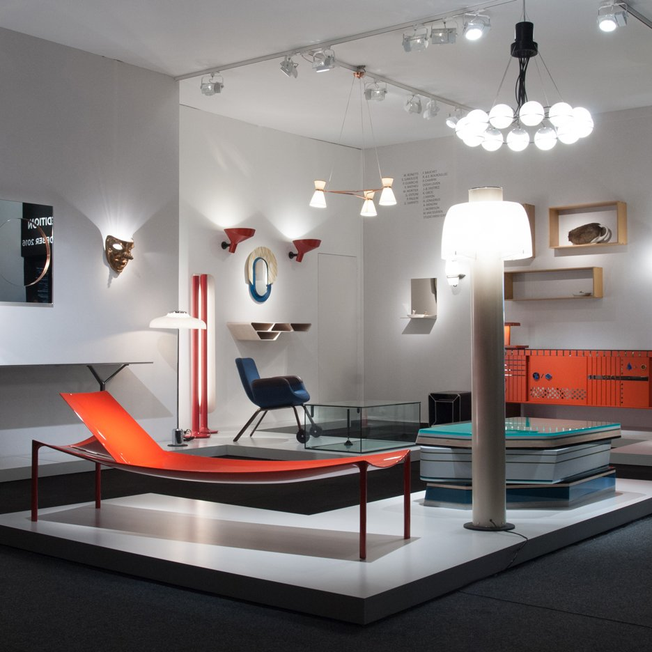 Gallerie Kreo's stand at PAD London