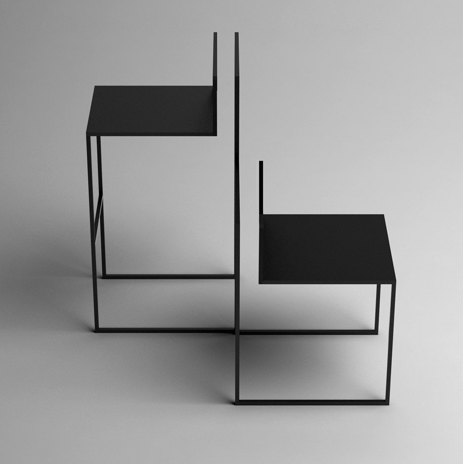 Nissa kinzhalina 39 s gentle hint chairs resemble incomplete for Sedia design minimal