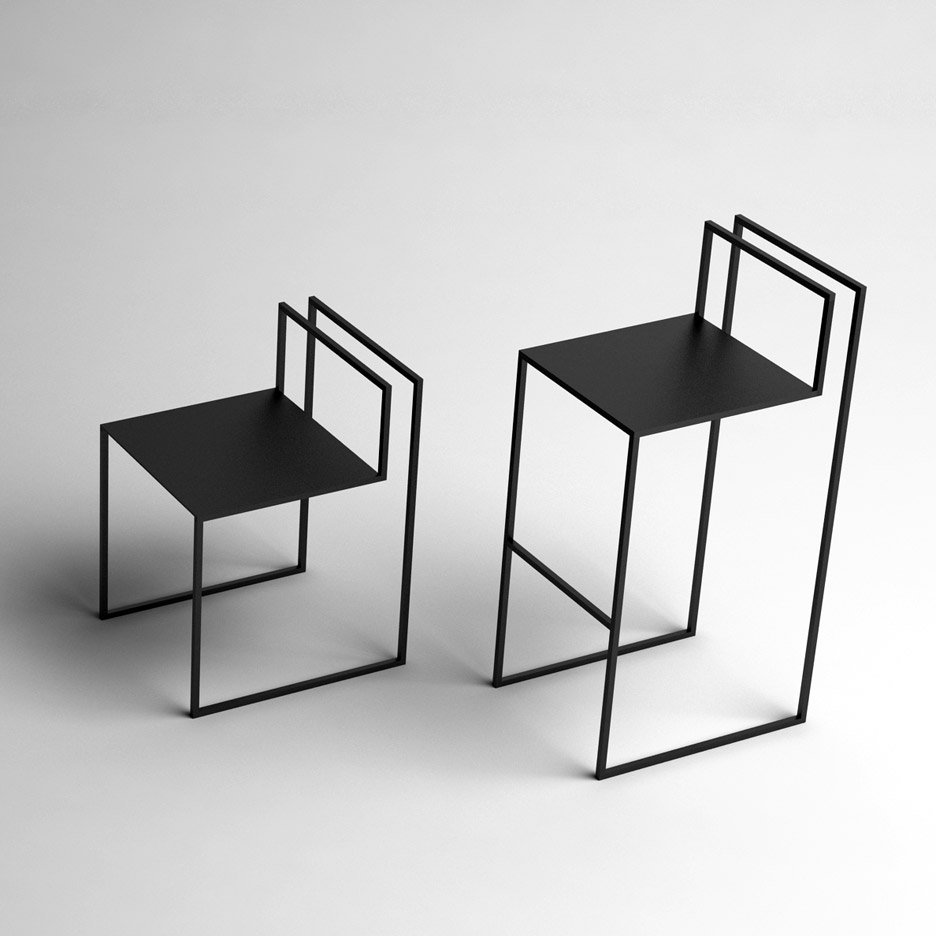Gentle Hint Chairs by Nissa Kinzhalina