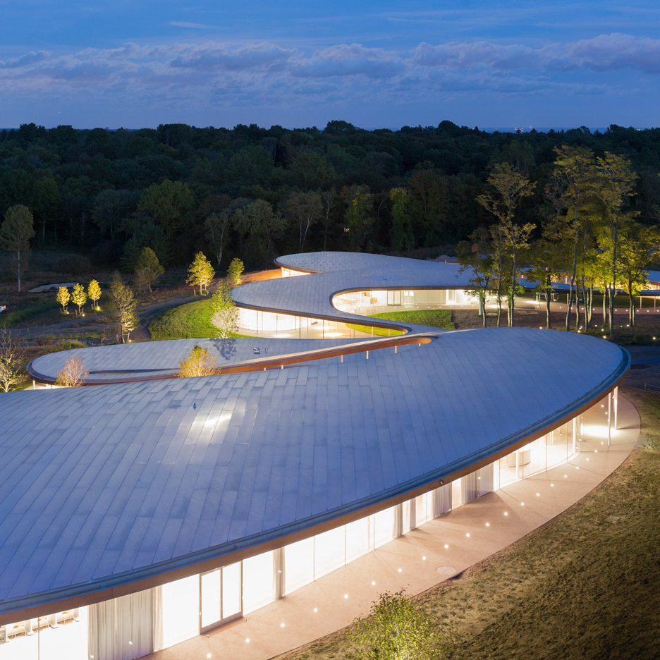 First images of SANAA-designed Grace Farms building in Connecticut revealed
