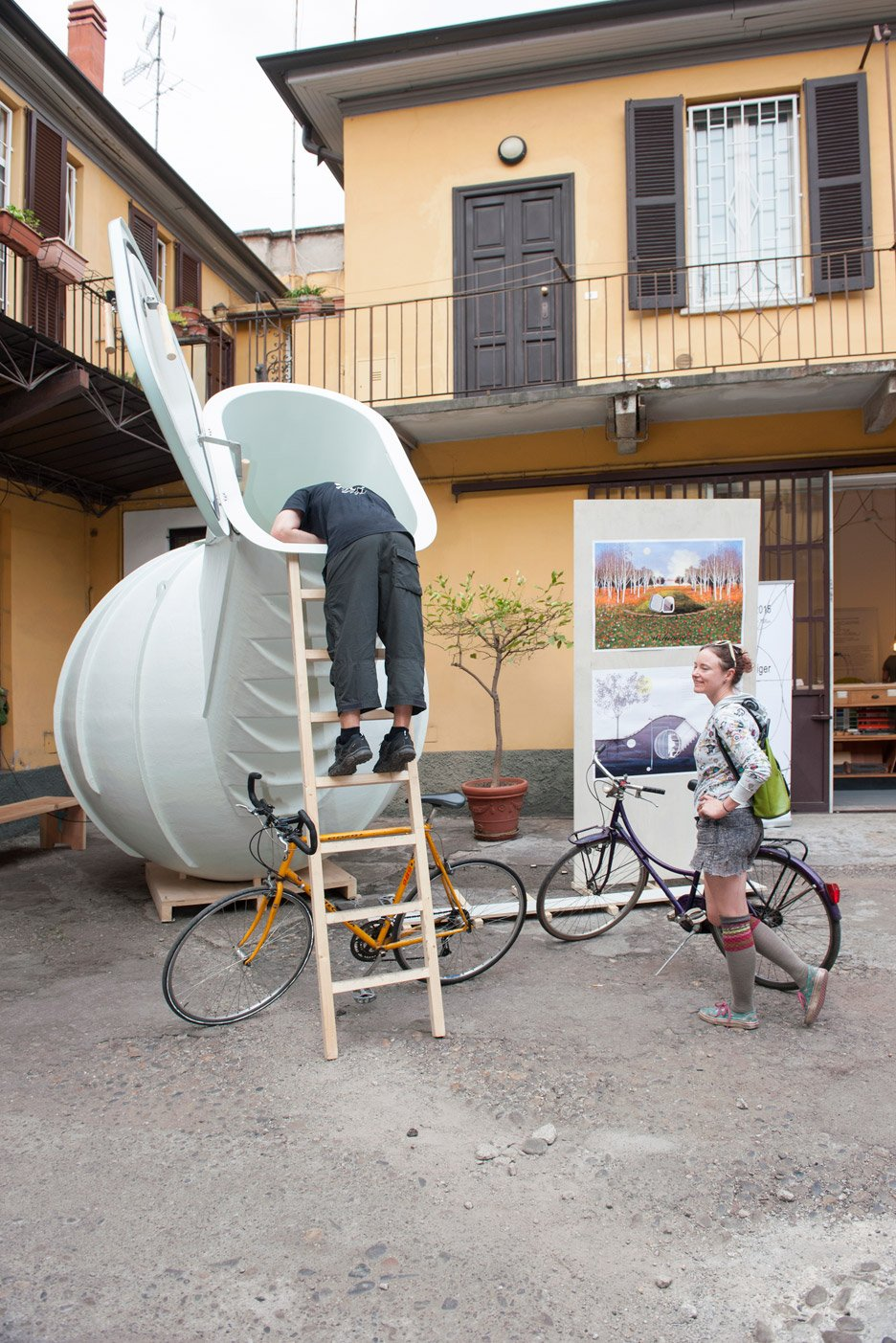 Groundfridge by Weltevree for Dutch Design Week 2015