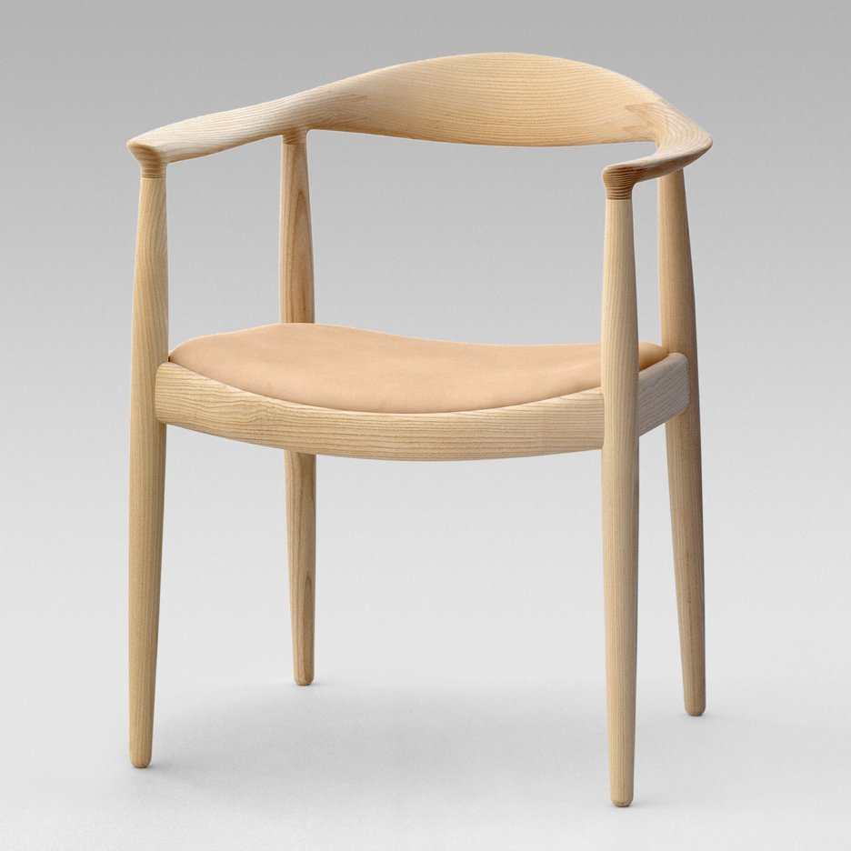 Fake Hans J Wegner chairs destroyed by Norwegian authorities & Hans J Wegner fakes destroyed by Norwegian authorities