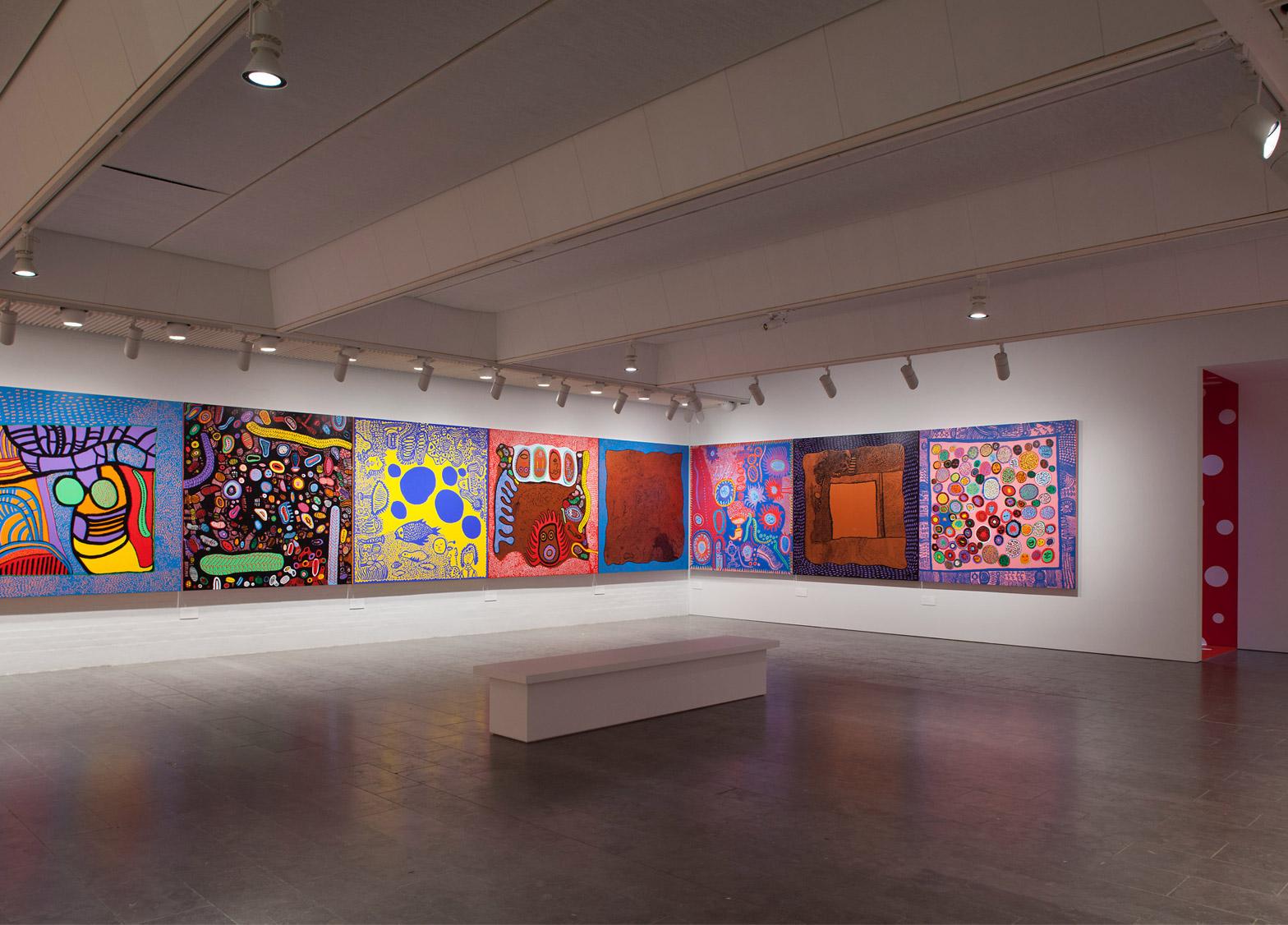 Yayoi Kusama exhibition at Louisiana Museum features six decades of spots