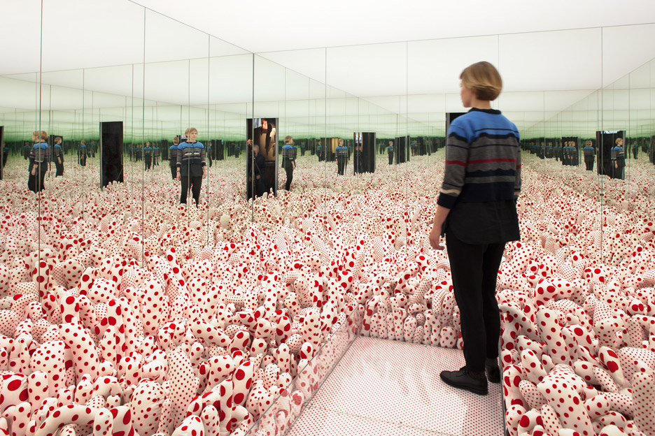 In Infinity installation by Yayoi Kusama for Louisiana MoMa