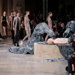 Iris van Herpen uses robots to print and weave a dress over Game of Thrones actress