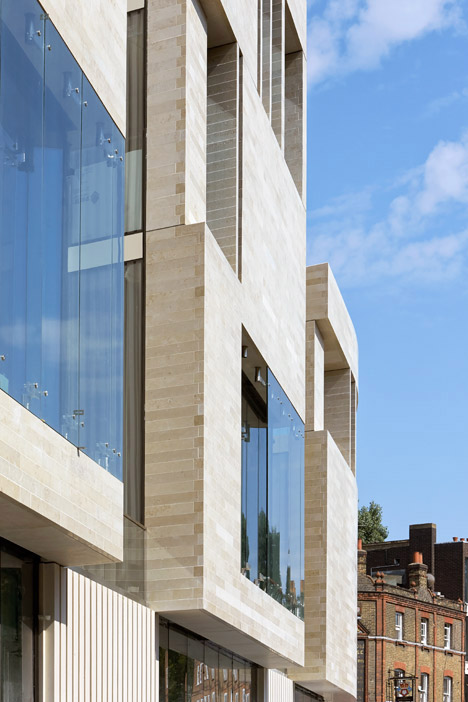 University of Greenwich architecture school by Irish Firm Heneghan Peng Architects