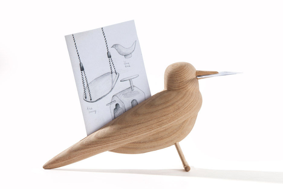 Jaime Hayón creates decorative wooden objects using Le Corbusier tree