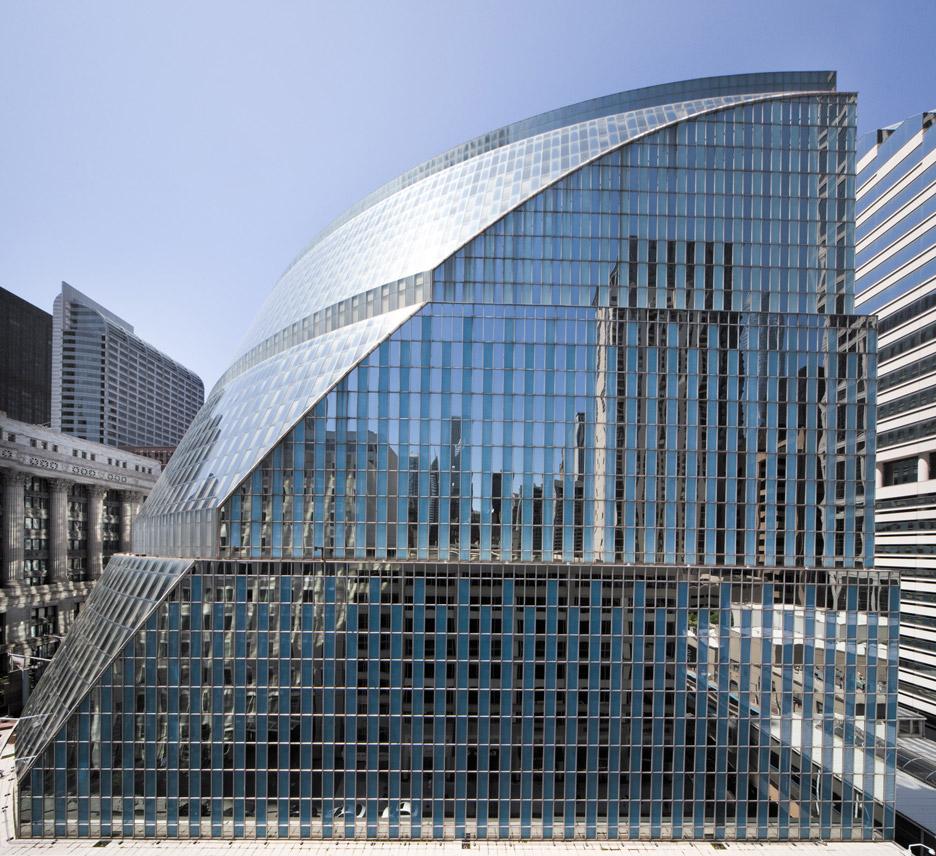 James Thompson Center by Helmut Jahn