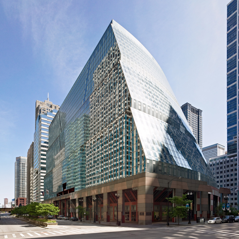 James Thompson Center by Helmut Jahn