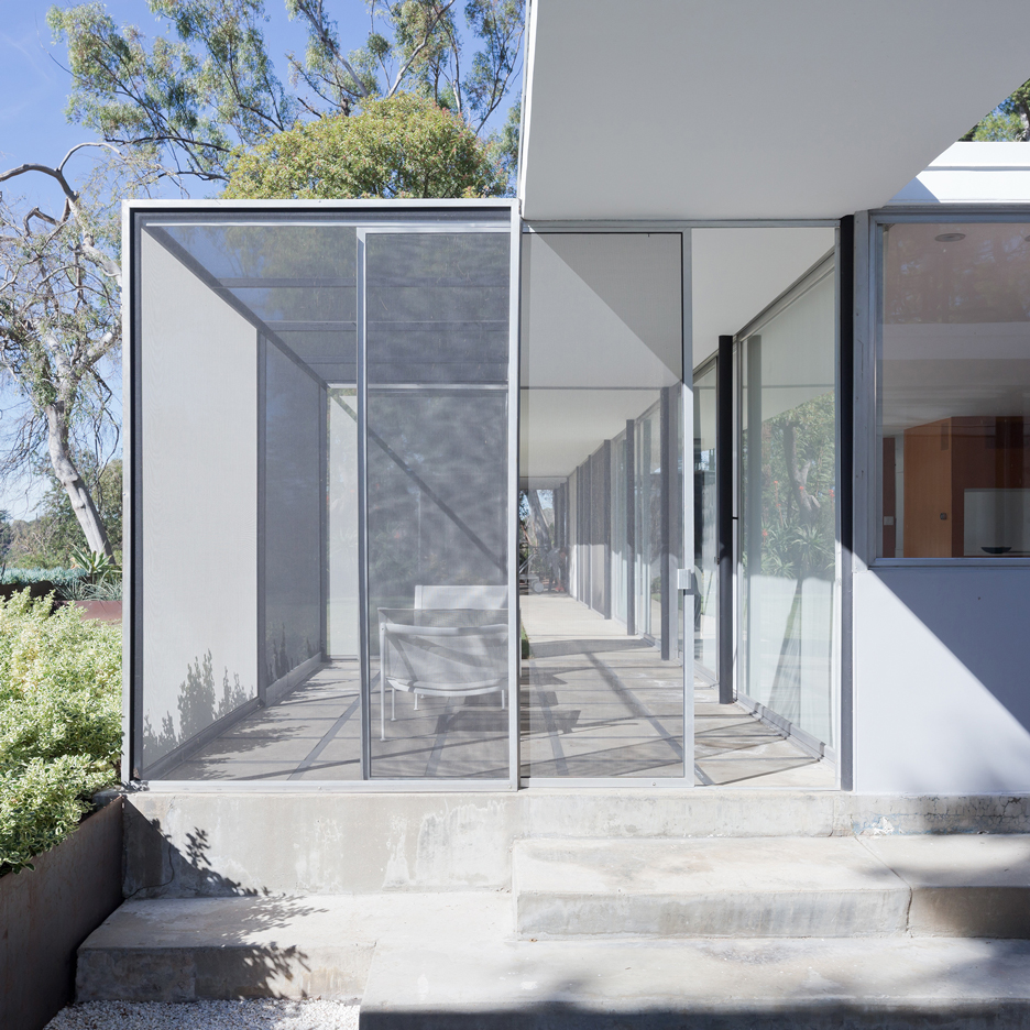 LOHA updates mid-century home built for legendary photographer Julius Shulman