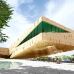 Groosman to create extreme cantilevers for arts centre in Rwanda's capital