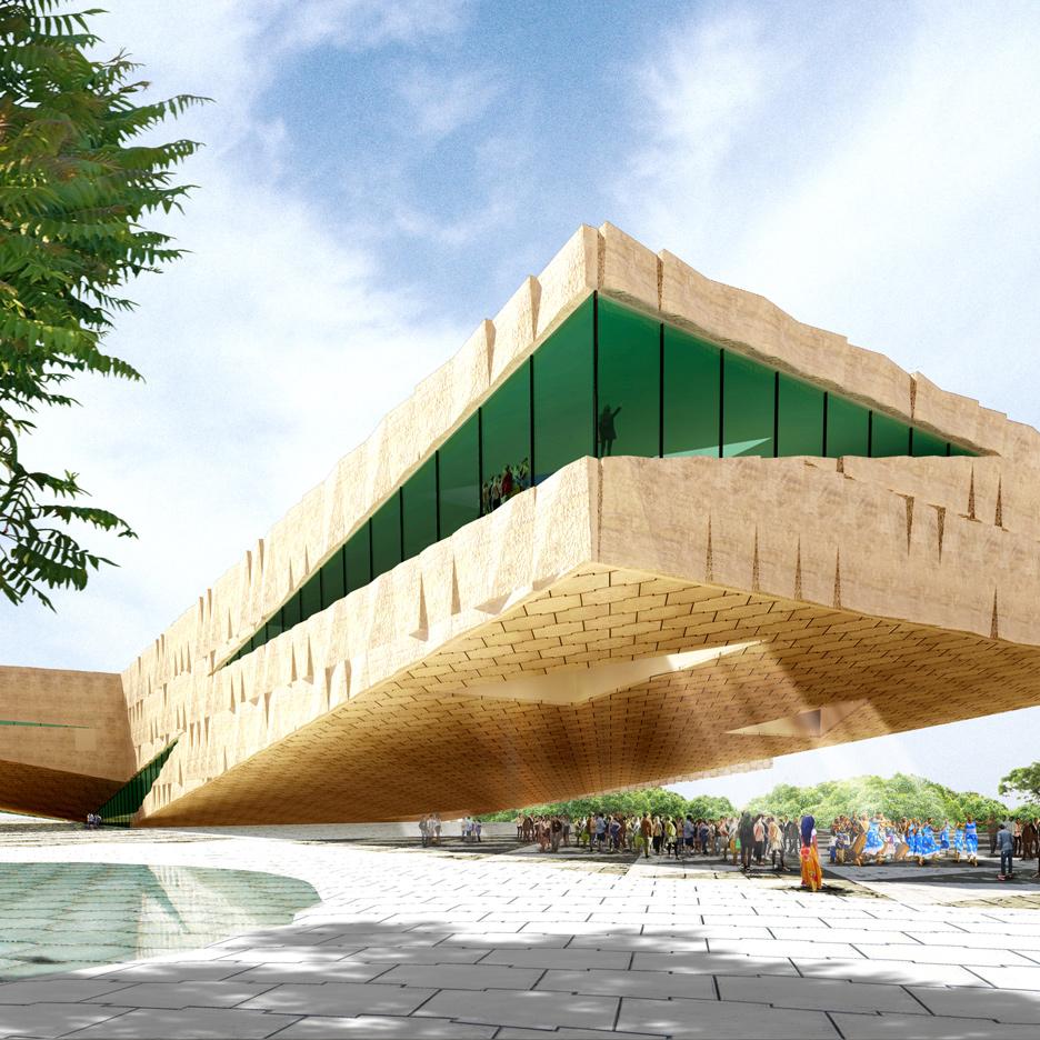 Kigali Art & Culture Centre, Rwanda by Groosman