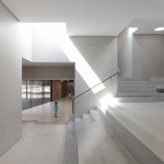 Pierre-Alain Dupraz houses Swiss kindergarten within quartet of concrete blocks
