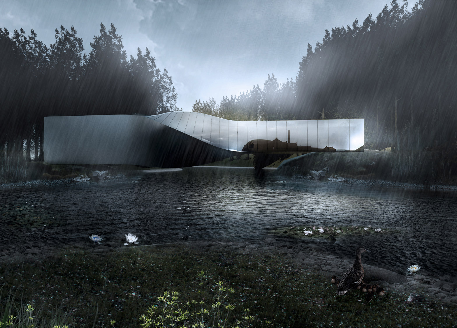 Kistefos Museum by Bjarke Ingels Group, Norway