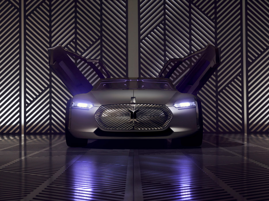 Le Corbusier concept car by Renault