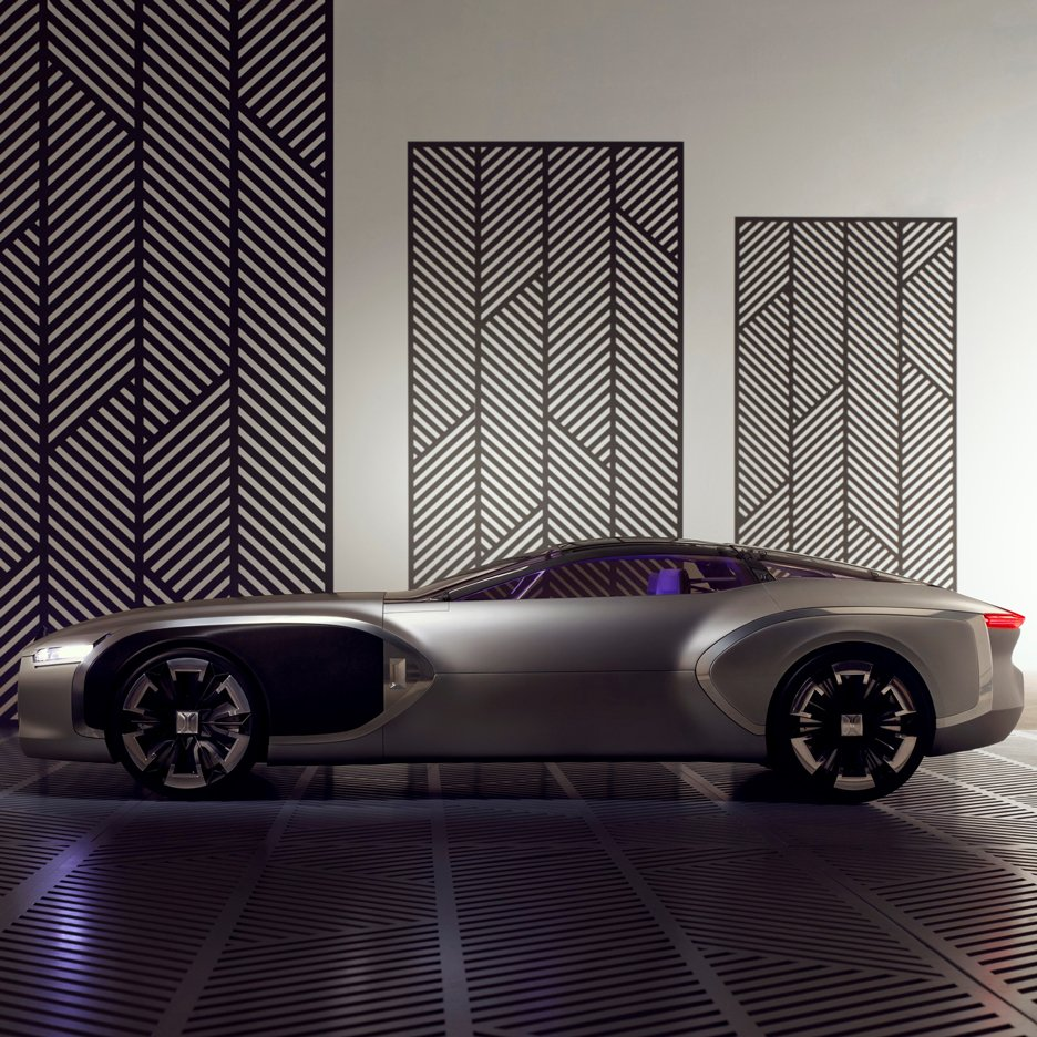 Renault marks anniversary of Le Corbusier's death with Modernist-inspired concept car