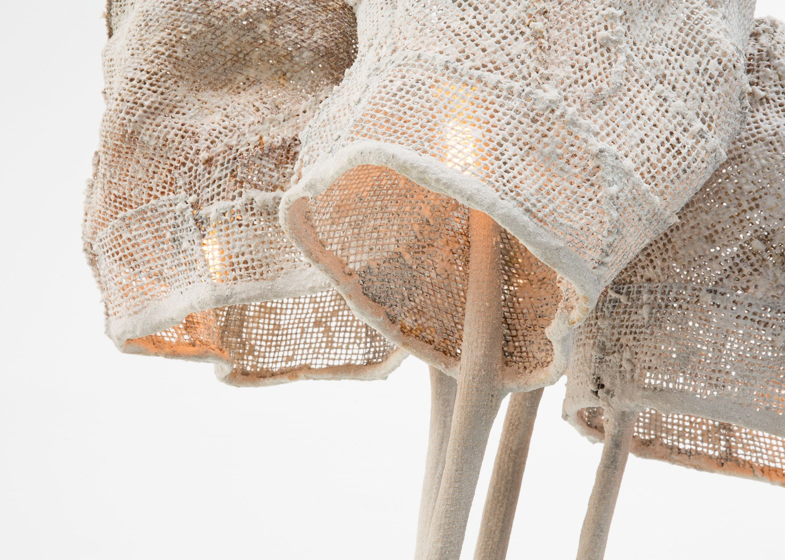 Light Mesh by Nacho Carbonell Carpenters Workshop, Gallery Exhibition London