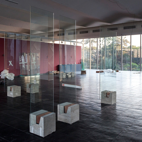 Lina Bo Bardi's Glass Easels