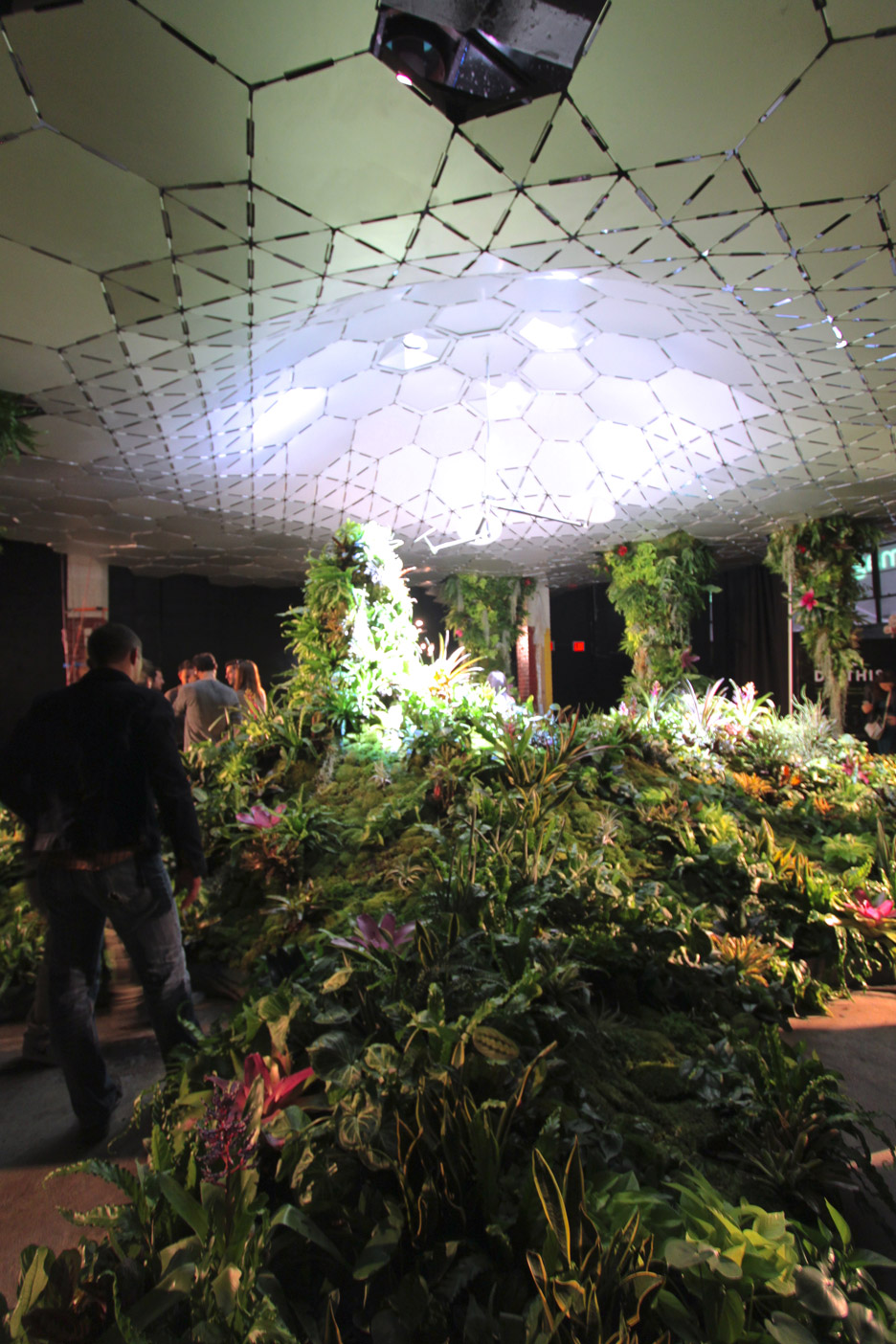 Lowline Lab underground park on Essex Street in Manhatten
