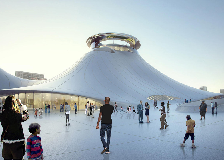 Lucas museum MAD architects