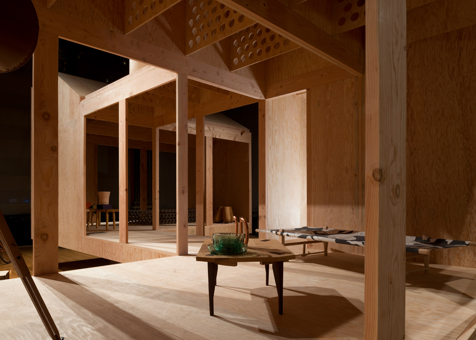 MOS Architects Corridor House at the 2015 Chicago Architecture Biennial