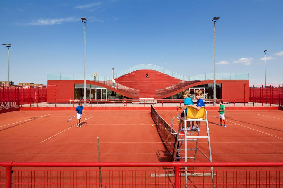 The Couch Tennis Club by MVRDV
