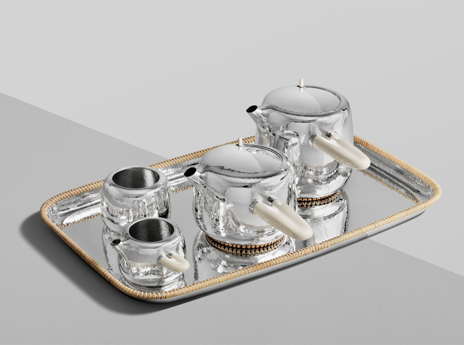Marc Newson tea set for Georg Jensen