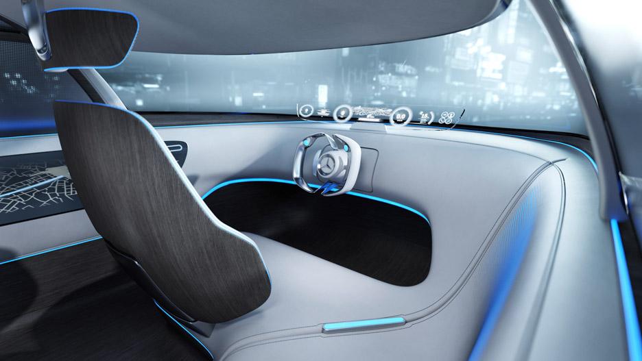 3novices Mercedes Benz Unveils Autonomous Concept Car Designed For