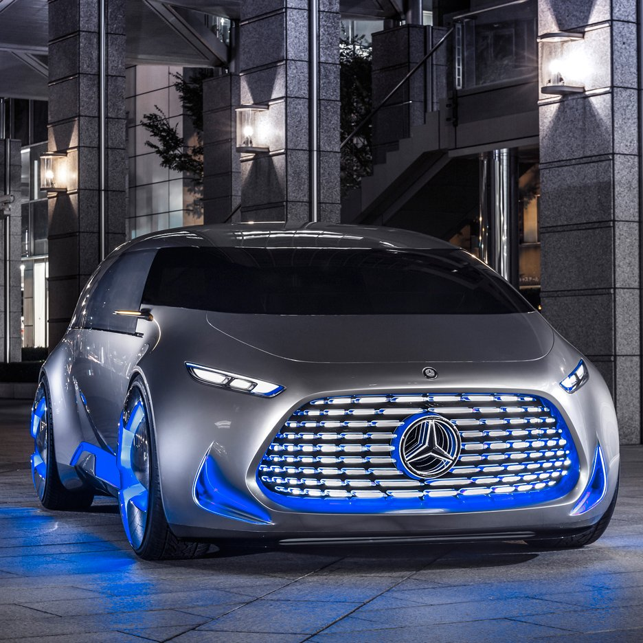 Mercedes-Benz unveils autonomous concept car designed for urban hipsters