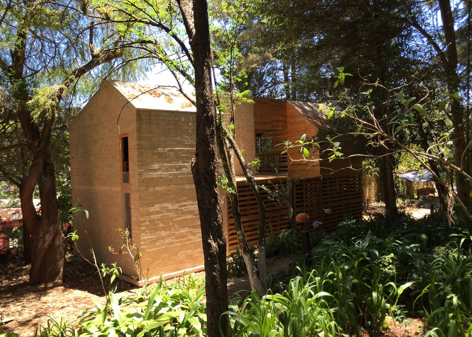 Mexico House by Tatiana Bilbao for Chicago Architecture Biennial 2015