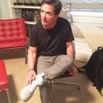 Michael J Fox tries Nike's first pair of Back to the Future self-lacing shoes