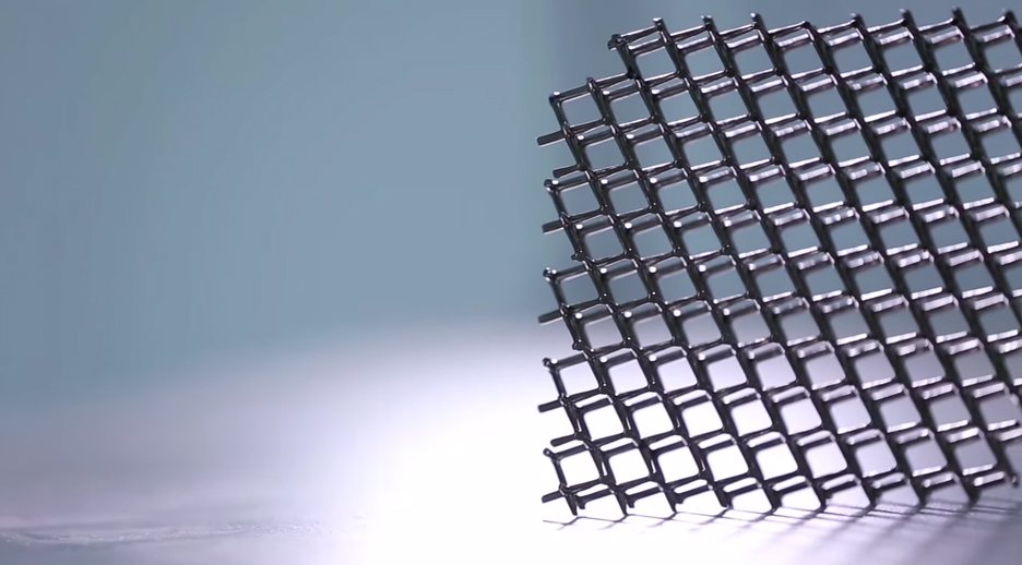 Microlattice material by HRL Labs and Boeing