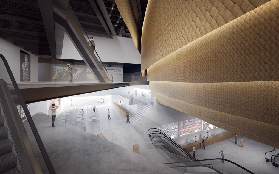Museum of Indigenous Knowledge by Kengo Kuma