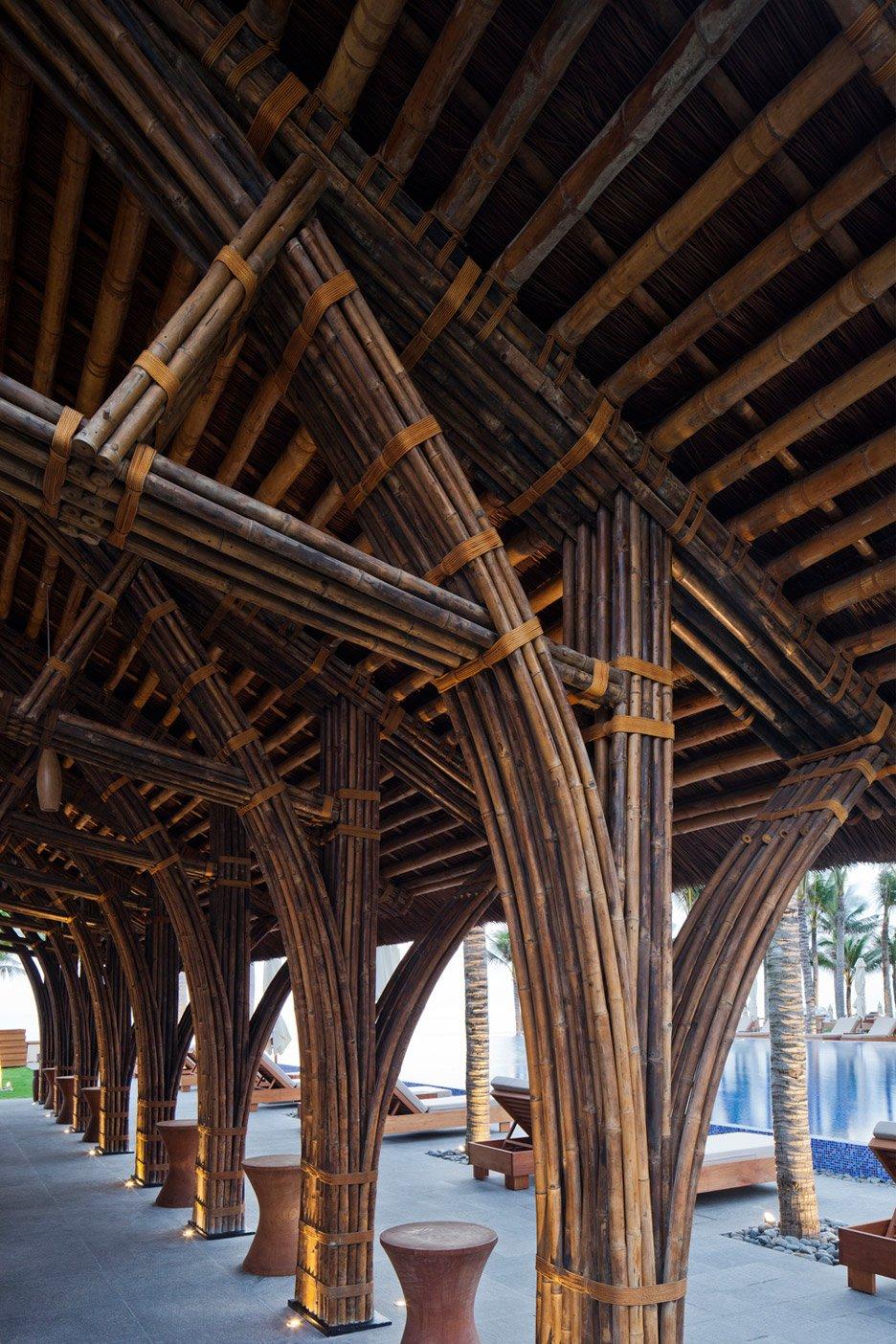 Naman Retreat Beach Bar by Vo Trong Nghia Architects