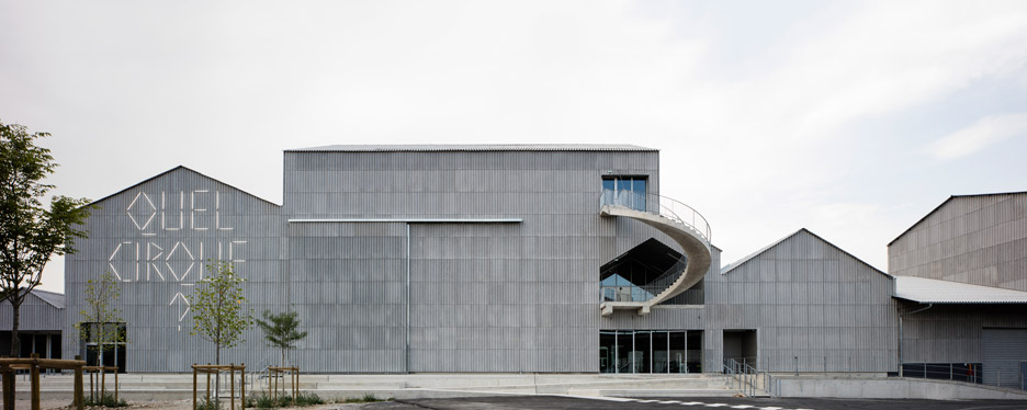 National Circus Arts Centre by § Caractère Spécial and NP2F Architectes