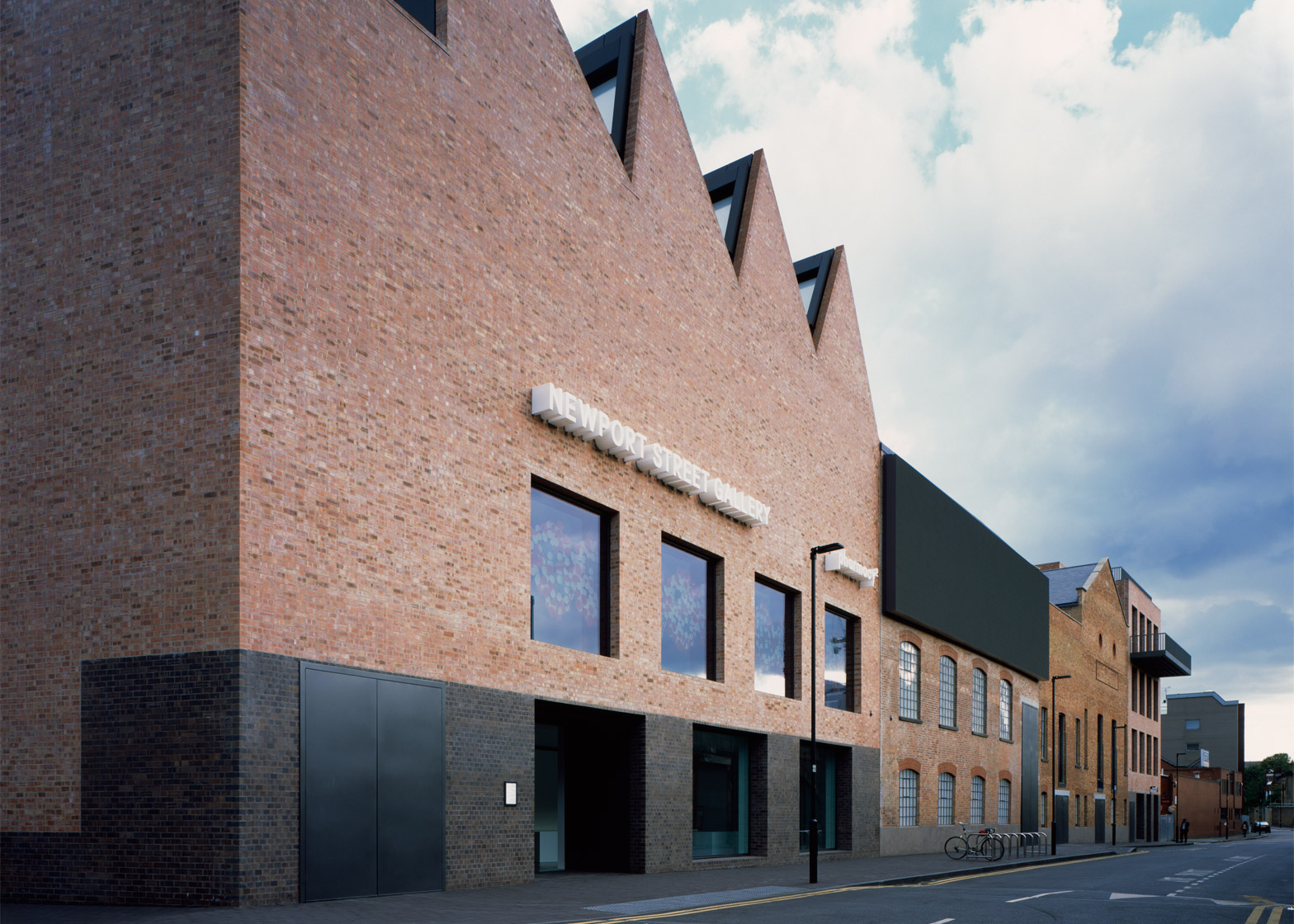 Newport Street Gallery by Caruso St John for Damien Hirst
