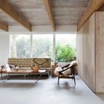 Scott & Scott updates Canadian mountain house interior using timber and marble