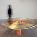 Paul Cocksedge's Freeze exhibition of metal furniture opens at Friedman Benda in New York